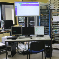 SatCom network monitoring system