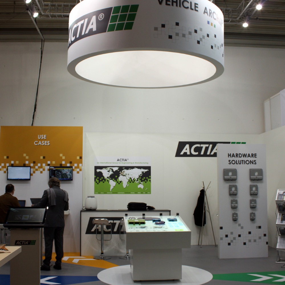 ACTIA takes part in BAUMA