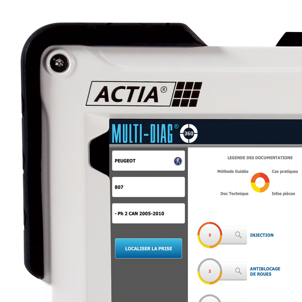 Multi-Diag 360, ACTIA 's diagnostic solution